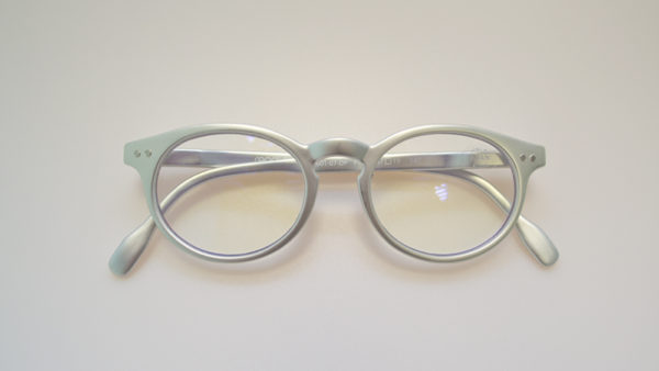 readloop blauwlichtfilterbril zilver
